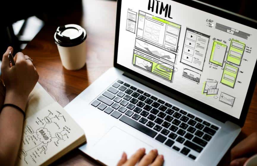 web design UI UX wireframe and sitemap