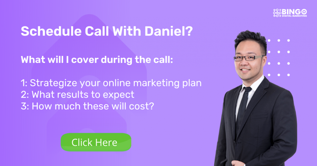 schedule call with Daniel